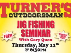 jig fishing tips Turner's Outdoorsman