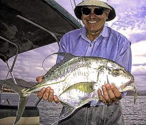 baja fishing report weather