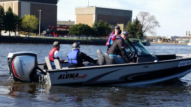 evinrude engines Annual Spring River Cleanup