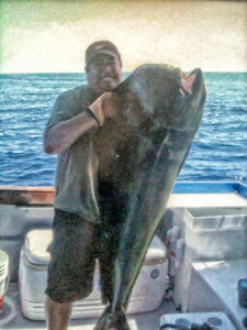 Big Dorado Fish