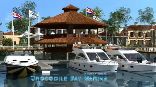 Crocodile Bay Launches International Marina for fishing