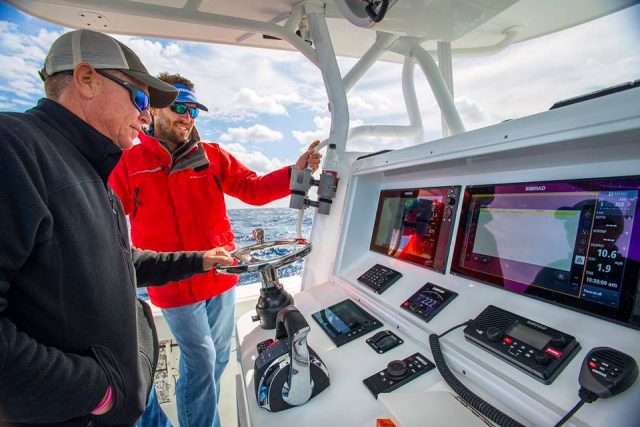 simrad autopilot for fishing boat