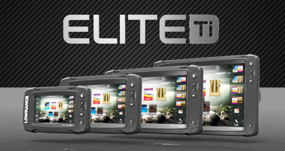 Lowrance Elite-Ti Marine Electronics Offer Bigger Displays
