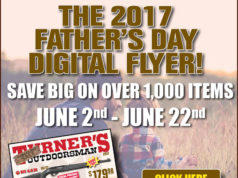 Turner's Outdoorsman Father's Day Sale