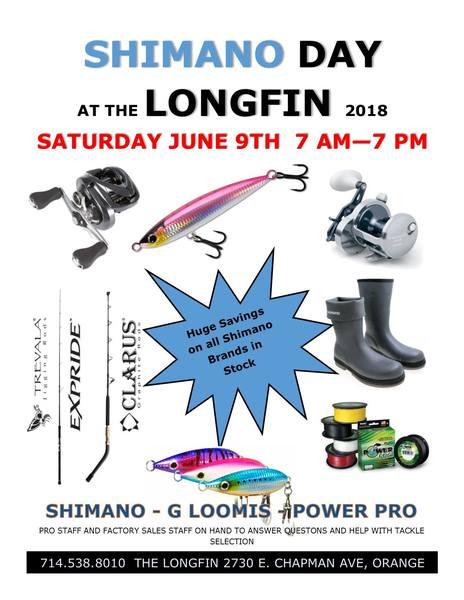 Shimano tour longfin