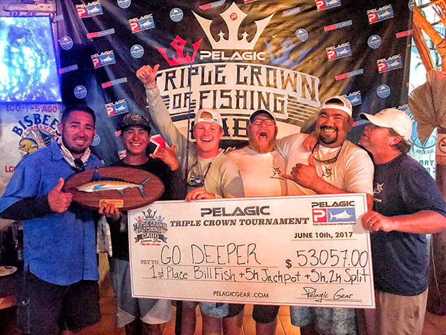 Pelagic Tournament on marlin division