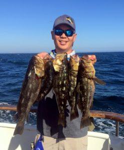 island reports catch bass fishing