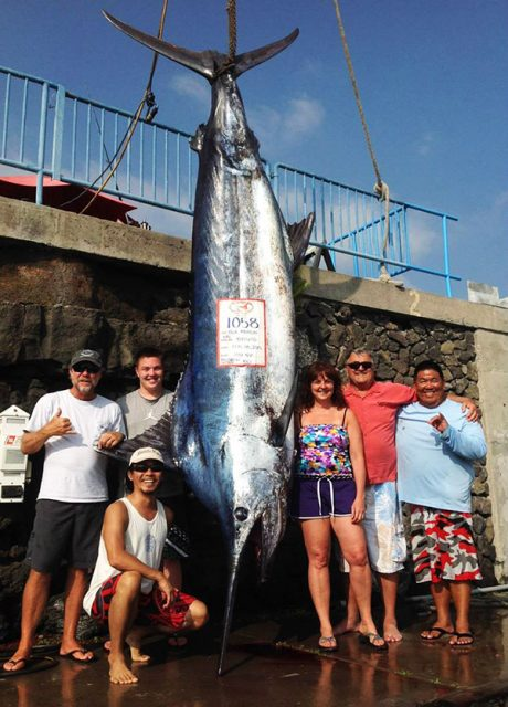 grander marlin Photo Credit: IHU NUI Sportfishing FaceBook page