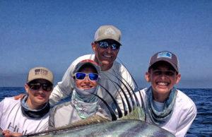 fishing with friends Baja Bytes