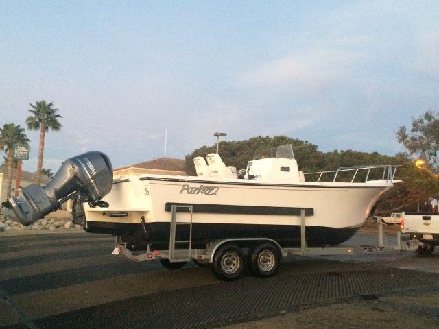 Parker 2501 25-foot boat