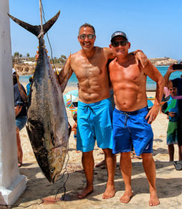 175-pound yellowfin tuna