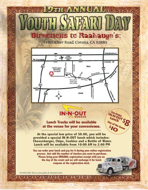 safari day directions