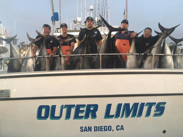 Outer Limits Team caught Bluefin Bite