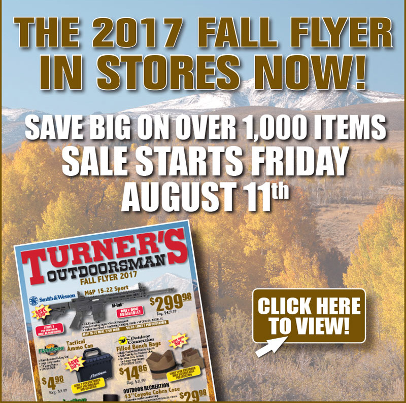 Turner'S Outdoorsman Fall Flyer - Bd Outdoors