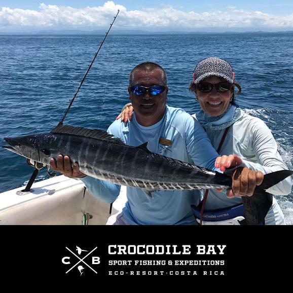 Costa rica fishing report from crocodile bay bd outdoors for Costa rica fishing report