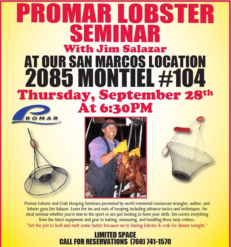Promar lobster - Promar Lobster Seminar