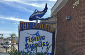 Longfin fishing