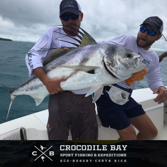 Roosterfish highlight this month's Costa Rica fishing report