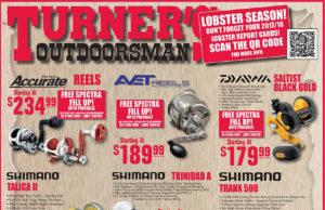 Turner's Outdoorsman sale