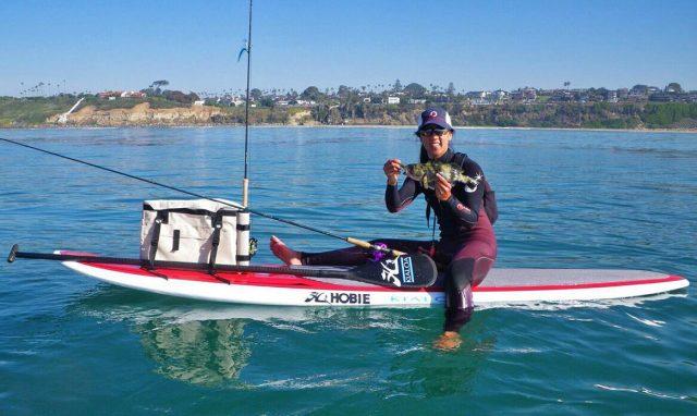 standup paddleboard fishing