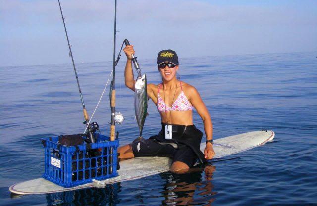 california paddle board fishing