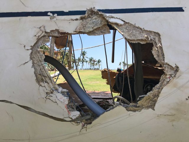 Hurricane Damage - hurricane destroy  63,000 Recreational Boats