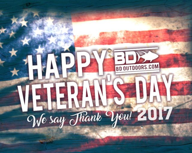 Veteran's thanks