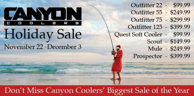 Canyon Coolers Holiday Sale
