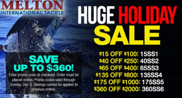 Melton Holiday Sale