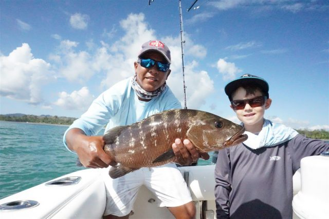 Crocodile Bay Resort snapper fishing