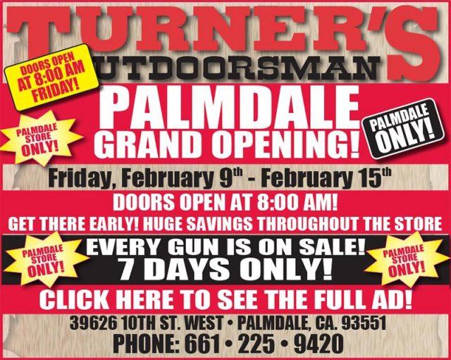 Turner's Outdoorsman - Outdoorsman Grand Opening