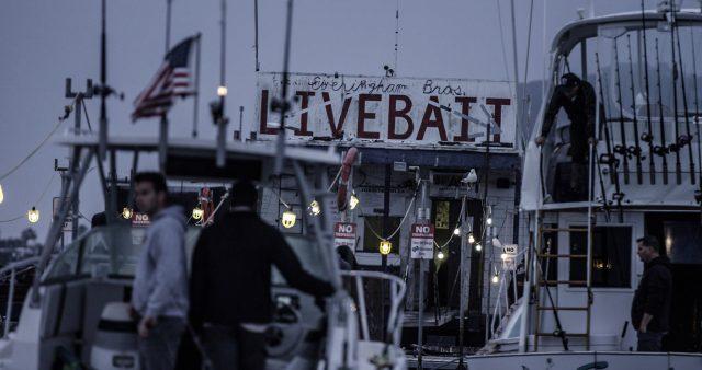 Everingham Bros. Bait Barge in San Diego Bay
