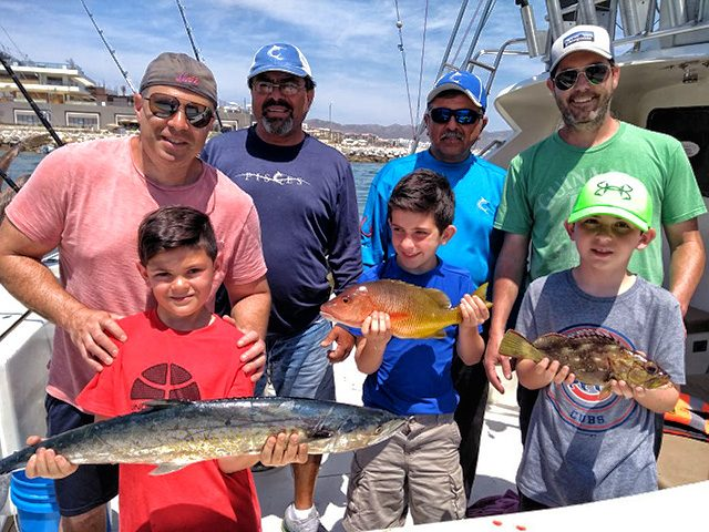 Spring Break Baja Fishing Report