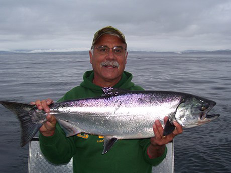 Salmon fishing regulations change for california fishery for Salmon fishing in california