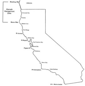 california salmon fishing regulations map