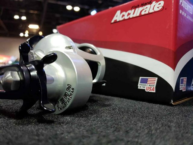 Accurate Tern reel star drag