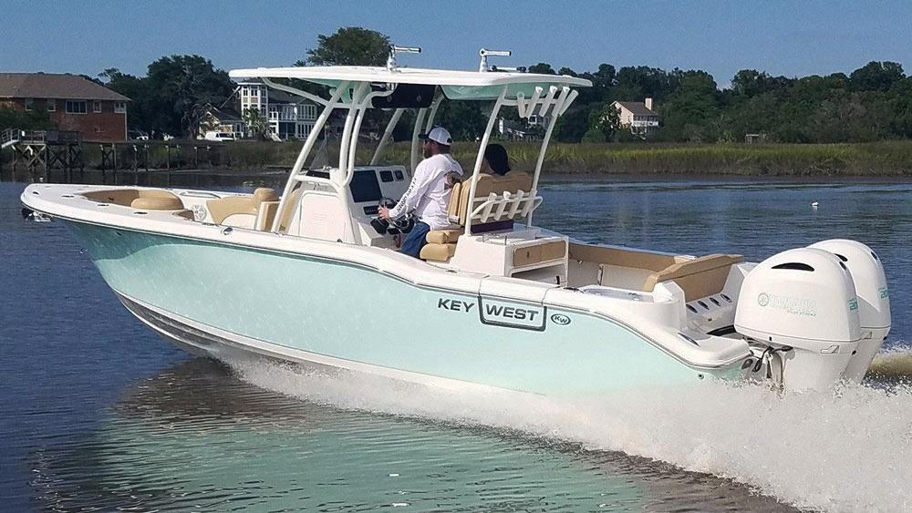 Key West 263 Fs Center Console Fishing Frenzy Bdoutdoors