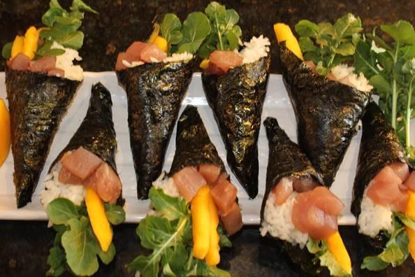 Homemade Tuna Rolls