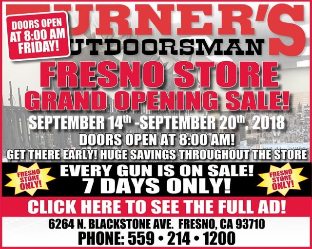 Turners Outdoorsman Fresno Store
