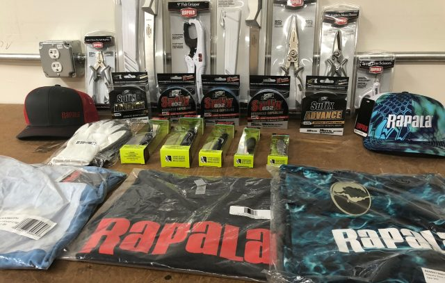 Rapala prize pack for the On & Off the Water Contest