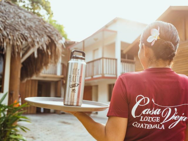 Casa Vieja Lodge Goes Plastic Free