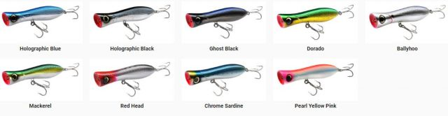topwater poppers