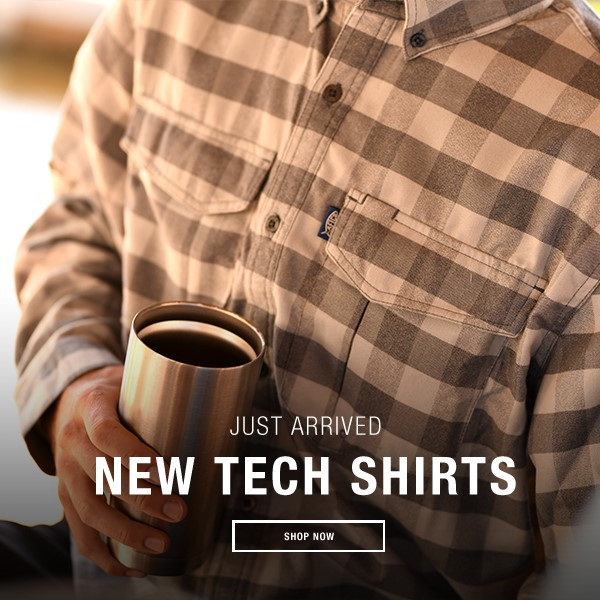 AFTCO Flannels Tech Shirts