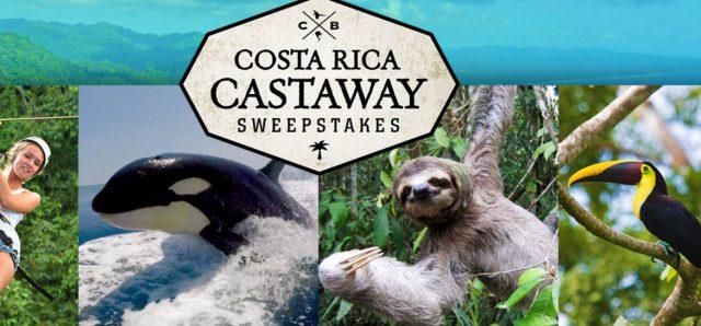 costa rica castaway sweepstakes