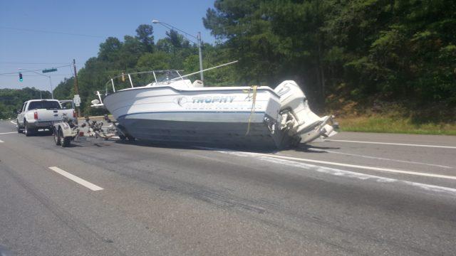 boat trailering