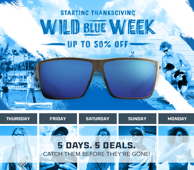 Costas Wild Blue Week