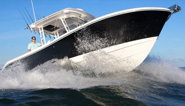 boat sea trial