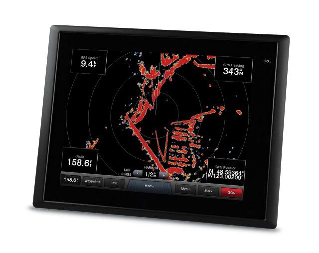 modern boat radar