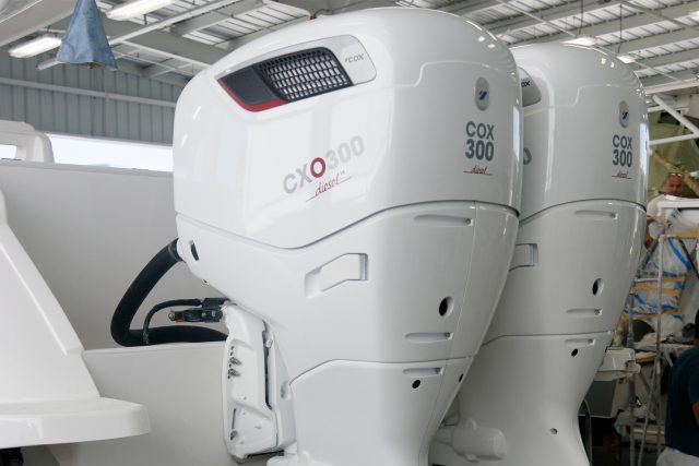 Cox diesel outboard
