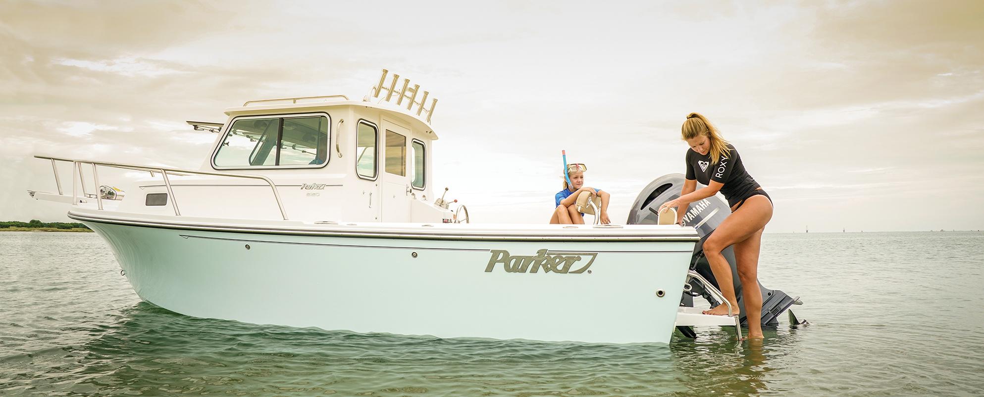 Parker 2120 Sport Cabin - Minimum Size, Maximum Potential